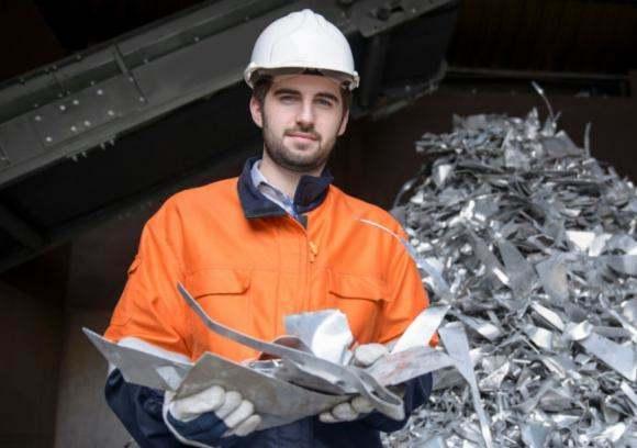 Rohstoffhandel Metallschrott
